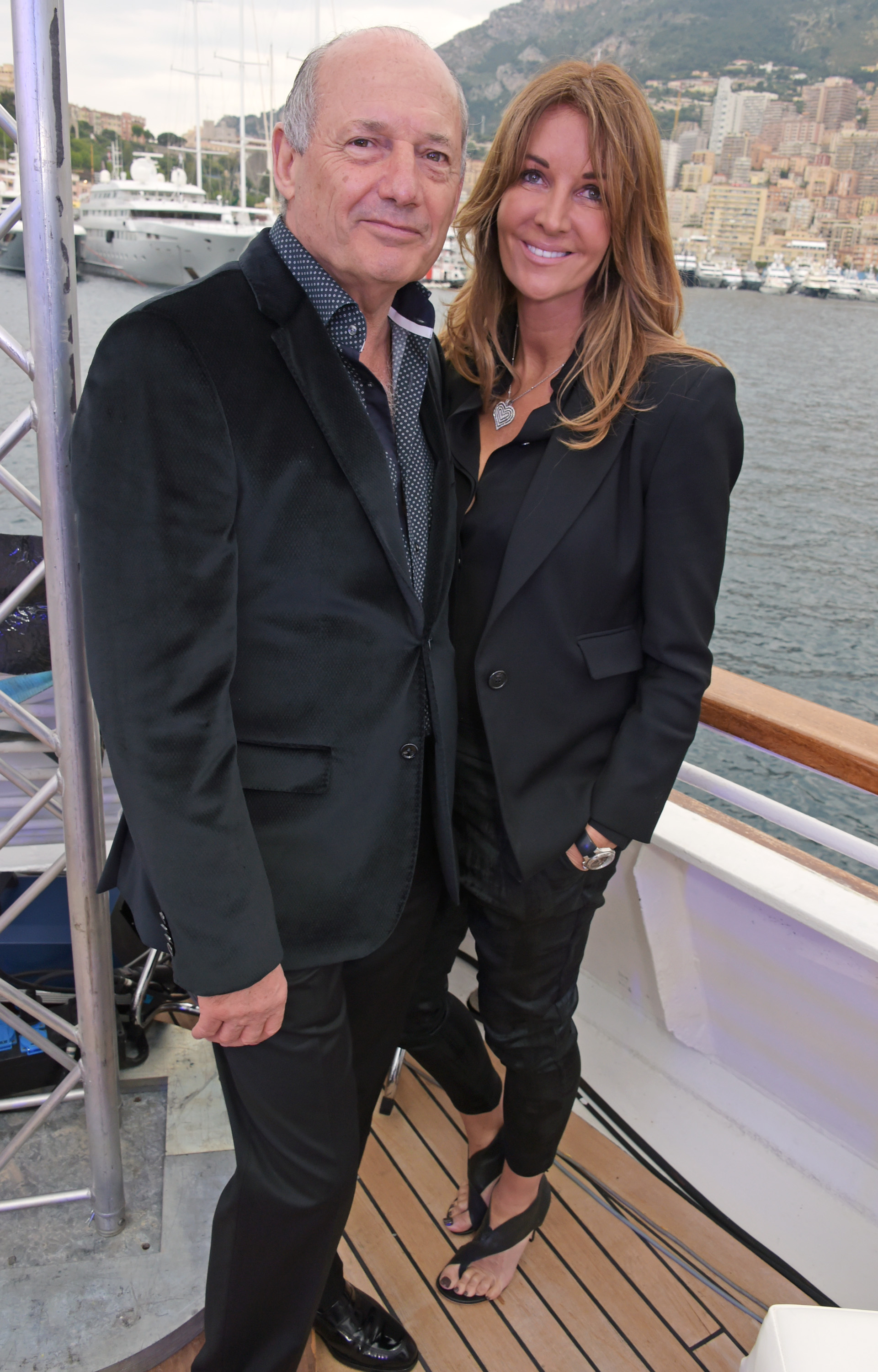 MONACO - MAY 23:  Ron Dennis (L) and Carol Weatherall attend the TAG Heuer Monaco Party on May 23, 2015 in Monaco, Monaco.  (Photo by David M. Benett/Getty Images for TAG Heuer) *** Local Caption *** Ron Dennis; Carol Weatherall