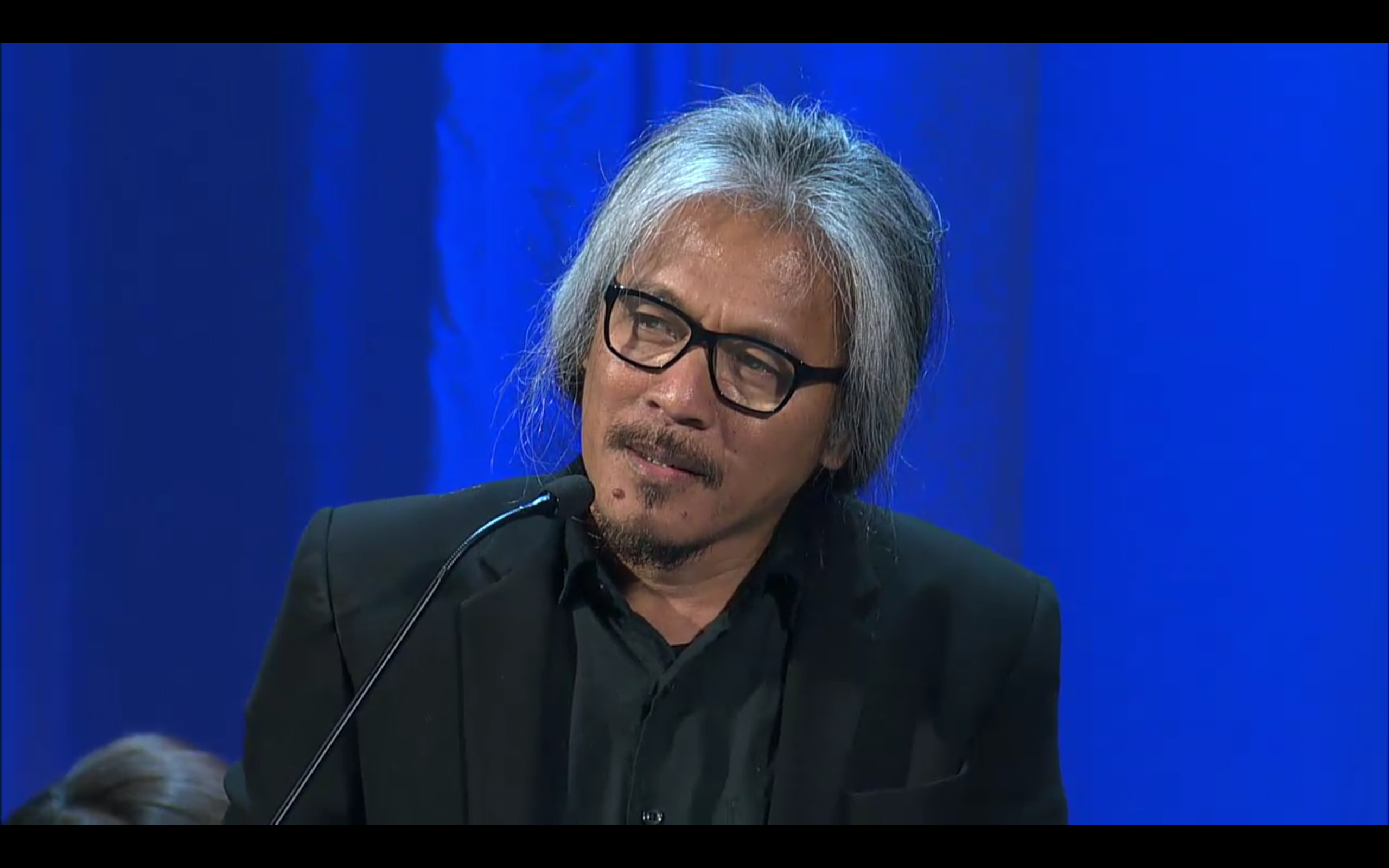 LAV DIAZ Film Director of the Best Film ANG BABAENG HUMAYO (THE WOMAN WHO LEFT) - GOLDEN LION-