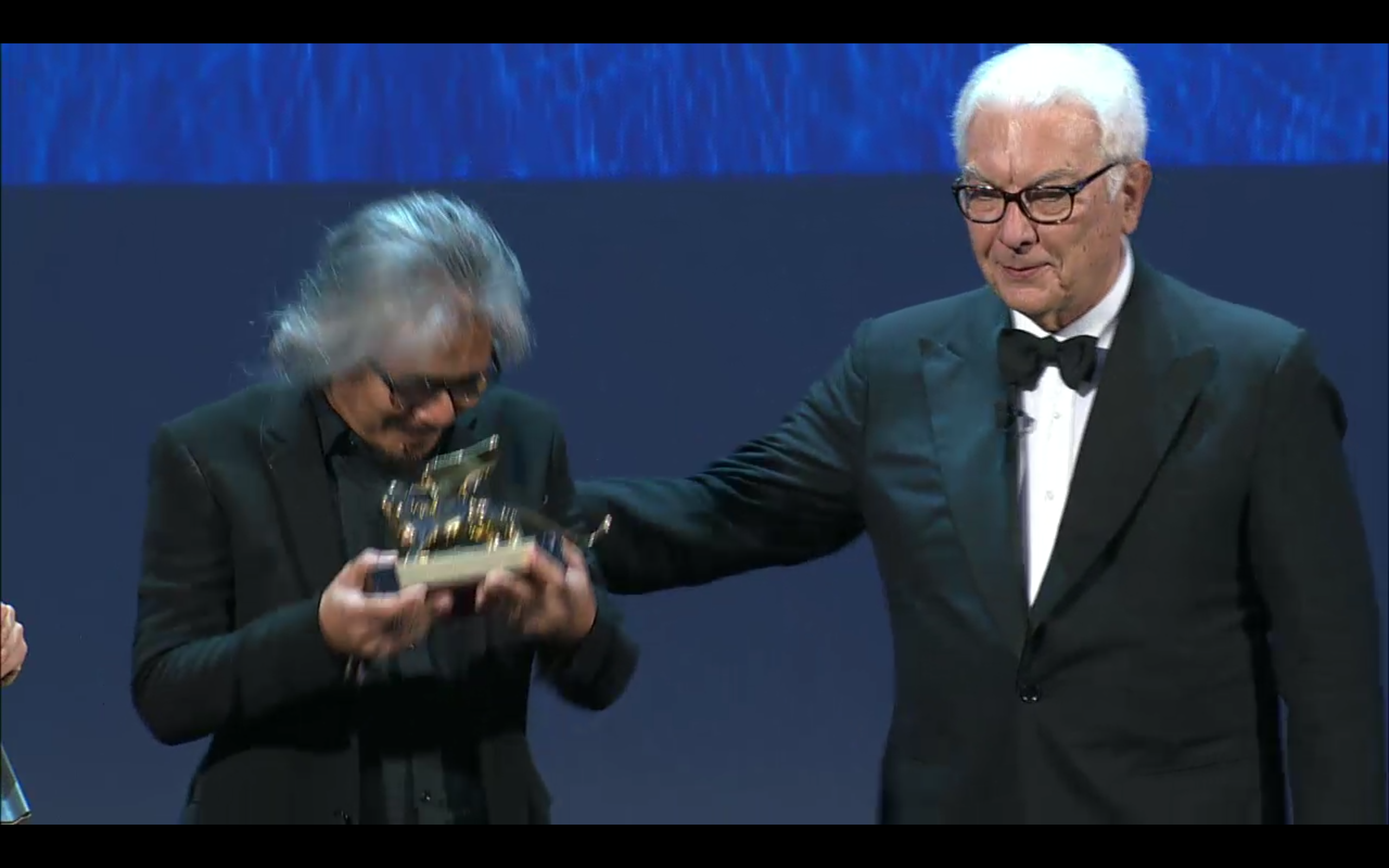 GOLDEN LION for Best Film to ANG BABAENG HUMAYO (THE WOMAN WHO LEFT) by LAV DIAZ (Philippines)