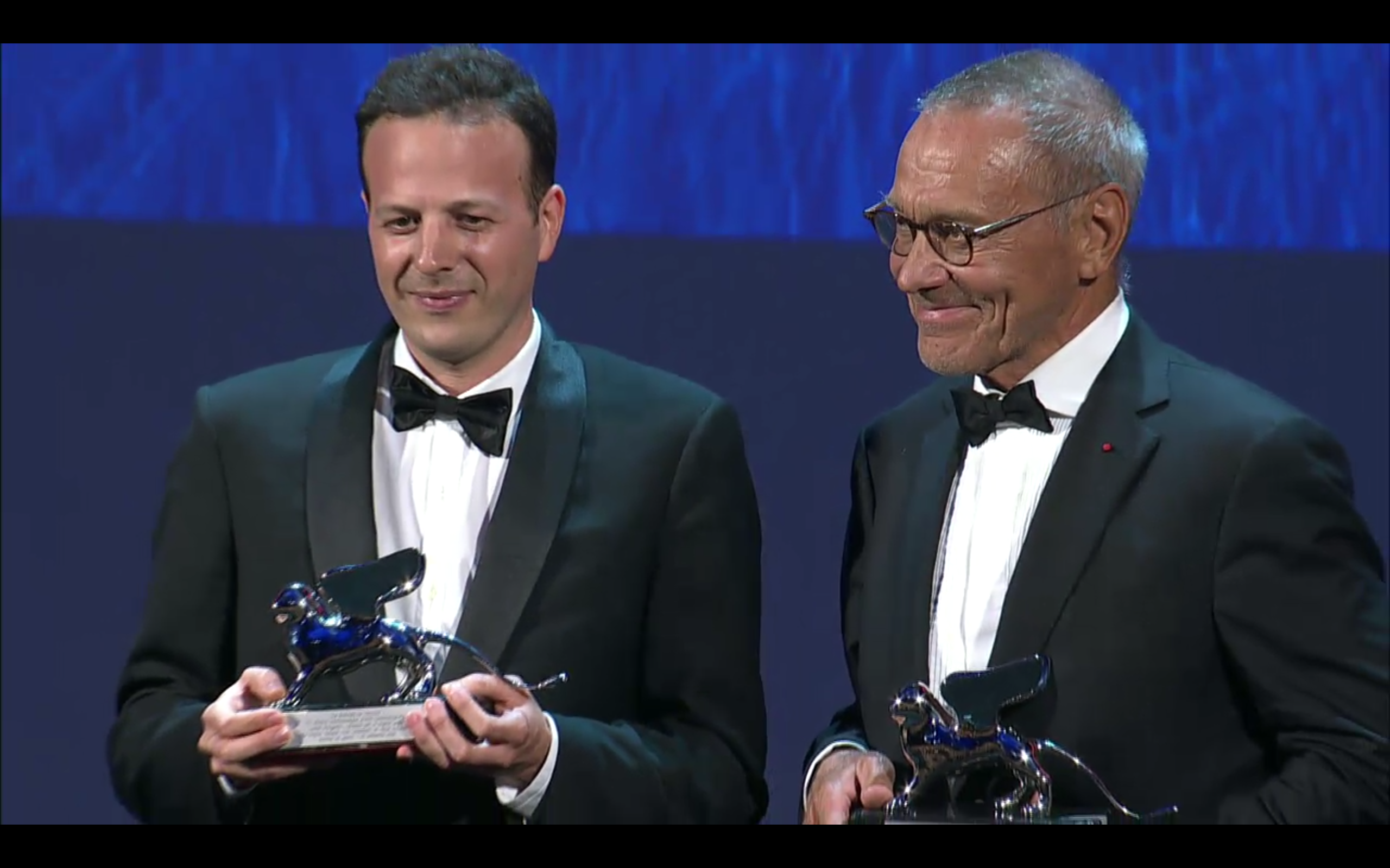 SILVER LION - AWARD FOR BEST DIRECTOR ex-aequo to: ANDREI KONCHALOVSKY and AMAT ESCALANTE