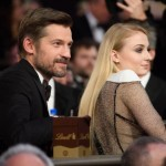 Nikolaj Coster Waldau and Sophie Turner