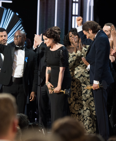 "All cast of the best film of the year ""Moonlight"""
