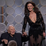 Catherine Zeta-Jones & Kirk Douglas