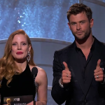 Jessica Chastain & Chris Hemsworth