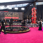 The red carpet at the 90th Oscars