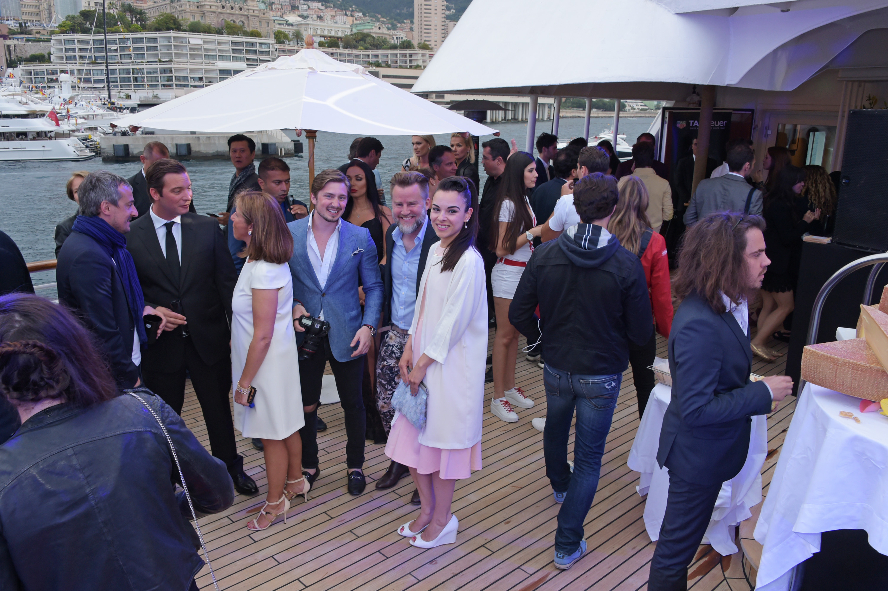 MONACO - MAY 23:  A general view of the atmosphere at the TAG Heuer Monaco Party on May 23, 2015 in Monaco, Monaco.  (Photo by David M. Benett/Getty Images for TAG Heuer)
