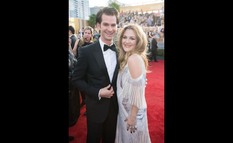 Andrew Garfield and Drew Barrymore