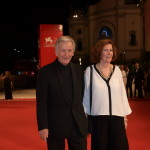 Costa-Gavras and wife